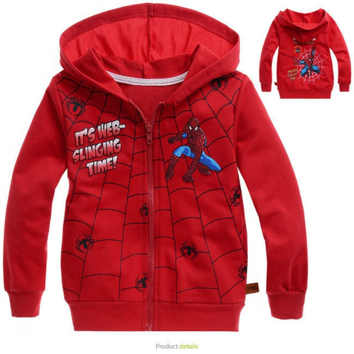 Spider-Man Outerwear Jacket for Boys