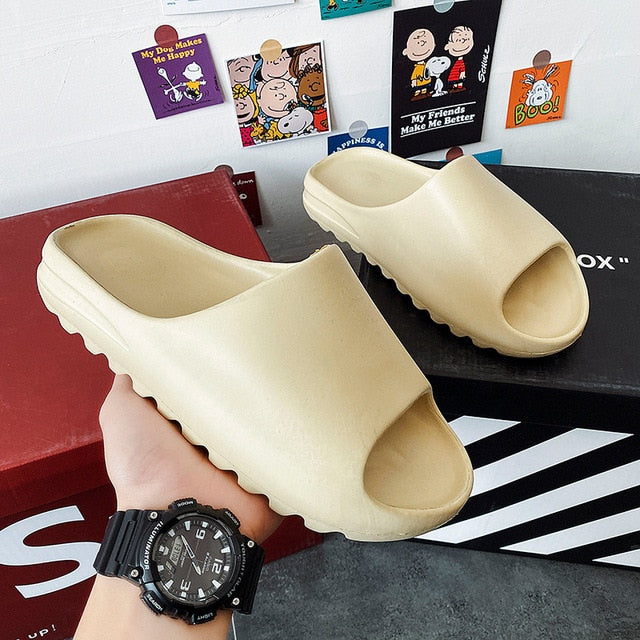 Children Lightweight Foam Yeezy Slides