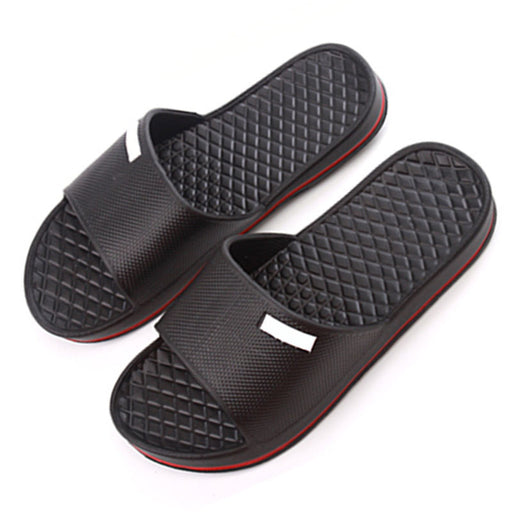 Mens Slip On Sports Flip Flop (Shower House Pool Gym Slippers)