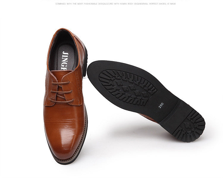 New High Quality Leather Men's Dress Shoes