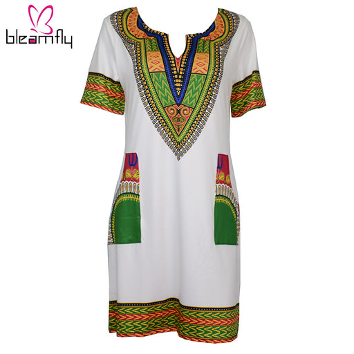AFROFASHION SLEEVELESS PENCIL AFRICAN PRINT DRESS