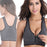 Zipper Push Up Sports Bras, (Padded Athletic Running Sports Tops)