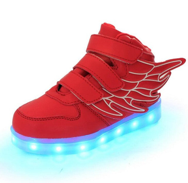 Fashion Sneakers with Led Lighted Shoes for Kids