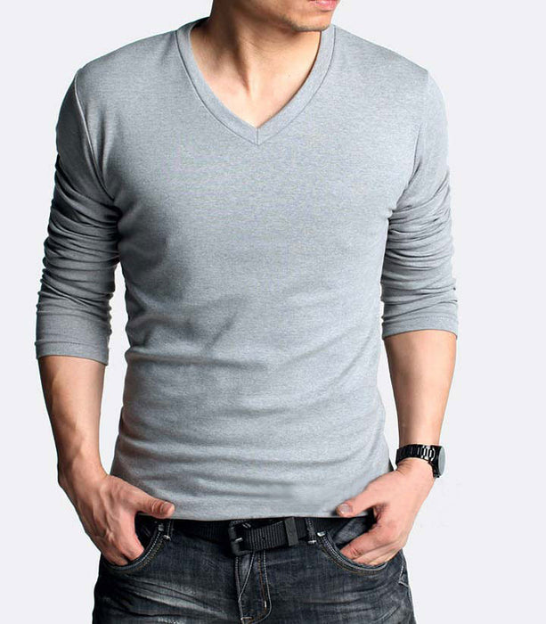 GoBliss Men's Tech Stretch Long-Sleeve T-Shirt