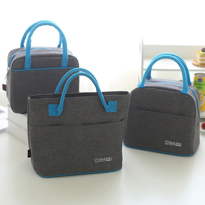 Thermal Insulation Cooler Lunch Bag Picnic For Keeping Ice Pack Food Fruit Container Storage