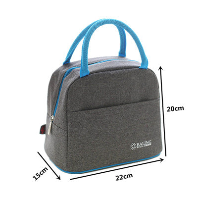 7d4bca73ec36 Thermal Insulation Cooler Lunch Bag Picnic For Keeping Ice Pack Food Fruit  Container Storage