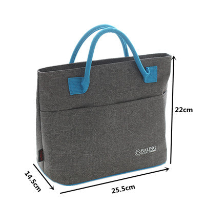 Thermal Insulation Cooler Lunch Bag Picnic For Keeping Ice Pack Food Fruit Container Storage Supply