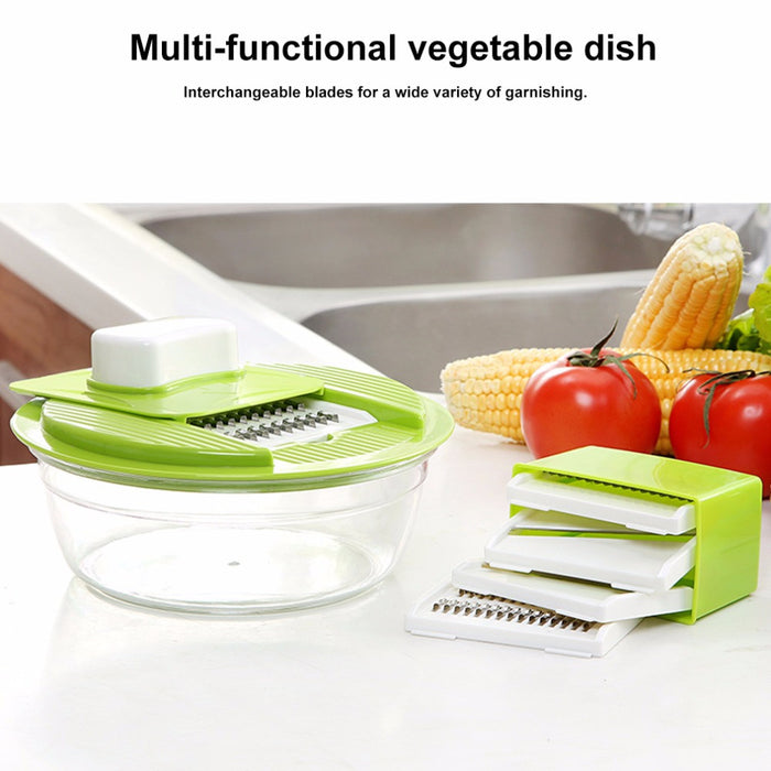 Creative Multifunctional Home Kitchen Vegetable Fruit Slicers (With Stainless Steel Blades, Slicers, Cutter) Kitchen Accessory
