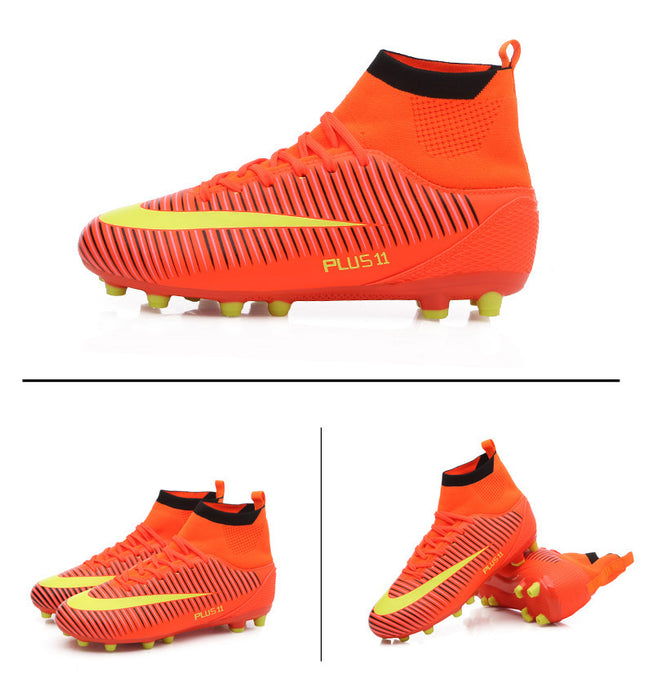 Football Shoes Outdoor Soccer Sports Shoes High Ankle Original Football Boots.
