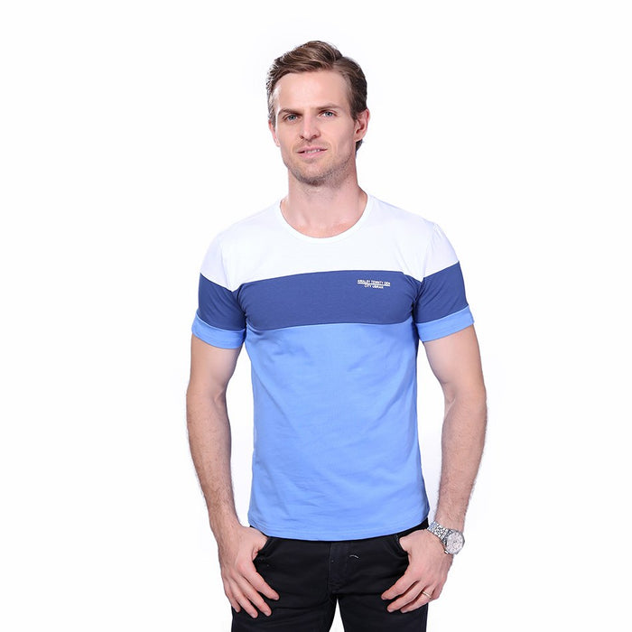 Summer Mens T Shirt 2018 New Fashion Striped T Shirt Mens Clothing Trend Slim Fit Short Sleeve Casual Mens Top Tee Shirt 5XL