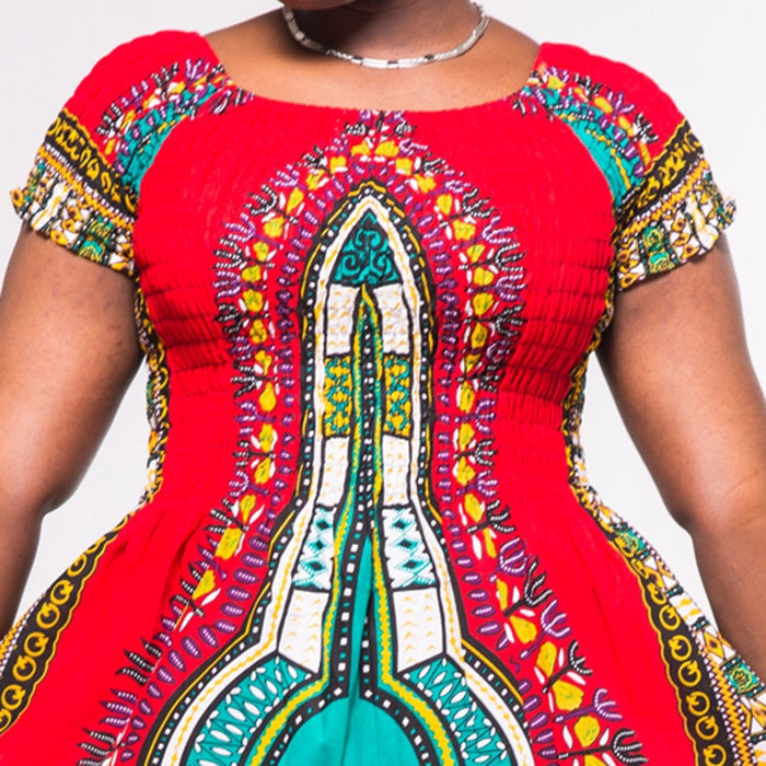 AfroFashion Stunning Elegant African Ladies Long Dress