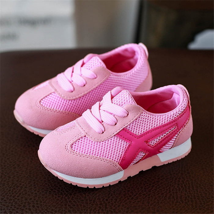 Kids Casual Flat Sneakers