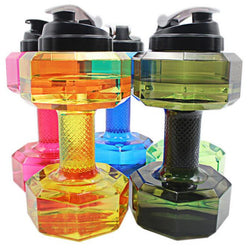 2.2 L Outdoor Dumbbells Shaped Water Sports Bottle