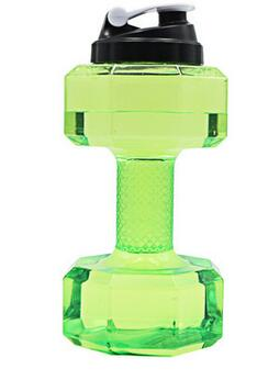 Dumbbells Shaped Sports Water Bottle
