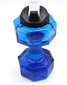 GoBliss Dumbbells Shaped Sports Water Bottle