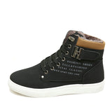 New High Top Canvas Casual Shoes Men