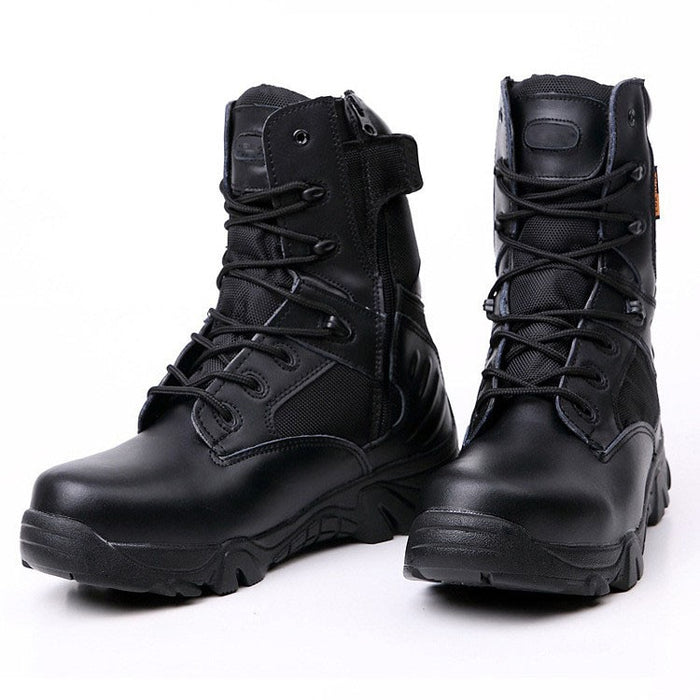 Men Military Boots Quality Special Force Tactical Desert Combat Ankle Boats Army Boots