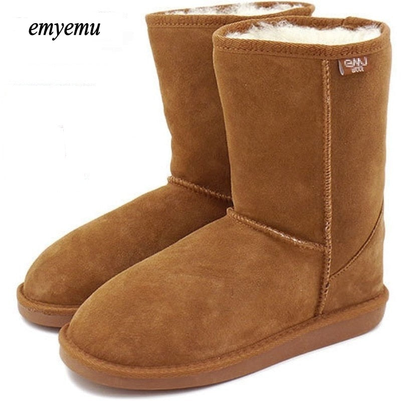 Australia 100% Wool inner Winter Snow Boots 5 colors Bronte Boots