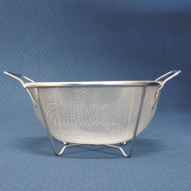 Supreme Stainless Steel Perforated Colander with Handle and  Base