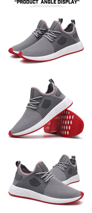 Human Race Casual Weaving Fly Mesh Breathable Light Soft Trainers Sneakers