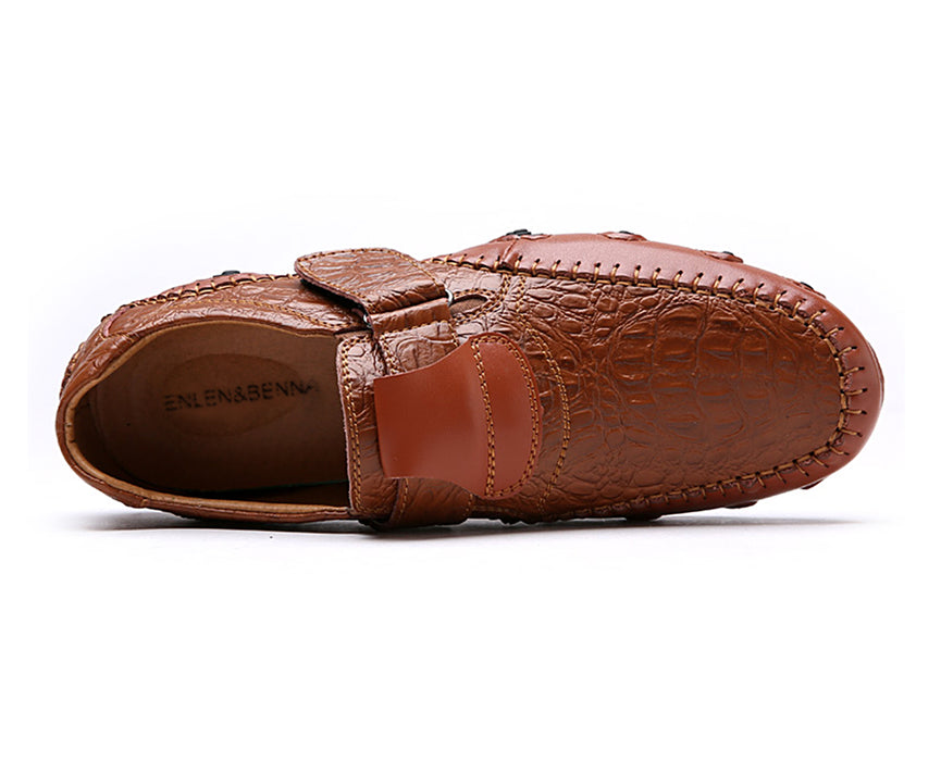 Genuine Leather Flat Slip on High Quality Designer Shoes