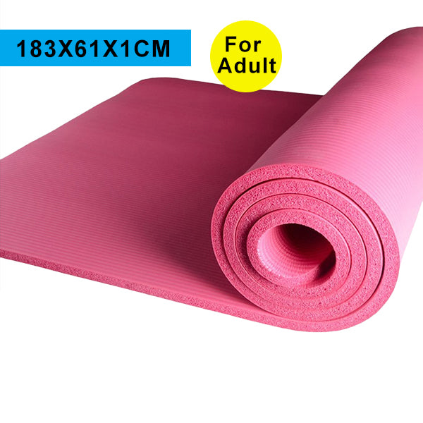 High Quality Multifunctional Yoga Mats for Sports Exercise 10MM 183*61CM