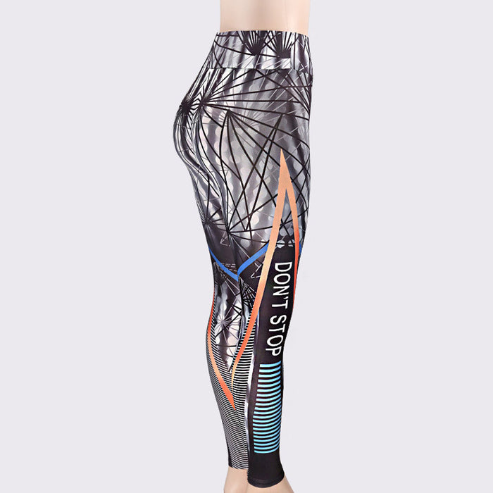 Yoga Fitness Leggings Running Gym Stretch Sports Pants