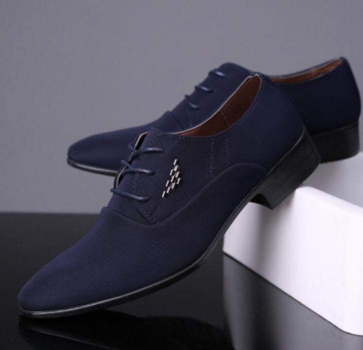 Men Wedding Leather Loafers Flats Shoes