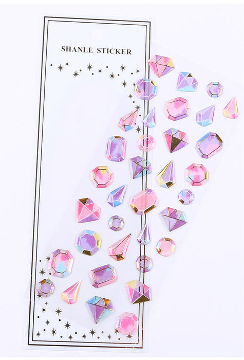 Crystal Diamond 3DStickers Decorative Stationery Craft Stickers