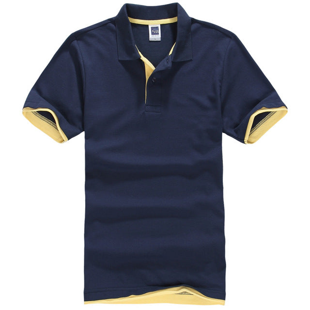 Pure Men's Classic Fit Stretch Mesh Polo Shirt