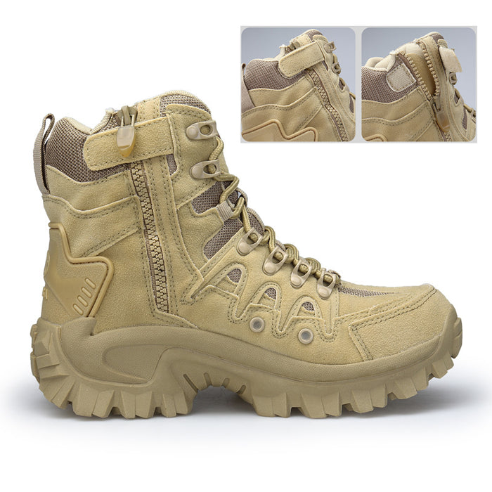 Men's Boots Military boot Tactical Army Safety Combat Chukka Ankle Boots