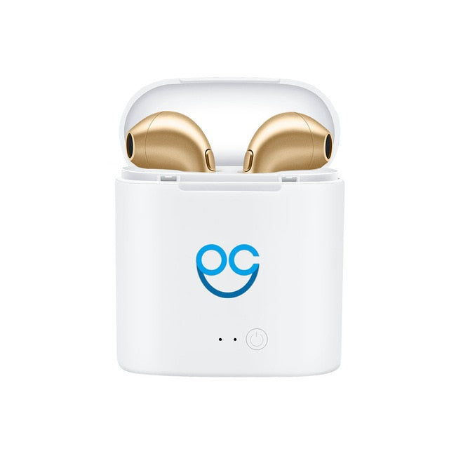 Mini Wireless Portable Headphones with Charging Box