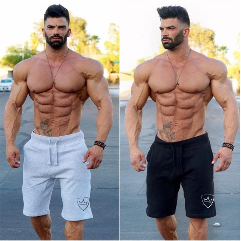 Men Fashion Sporting Fitness Casual Gyms Shorts