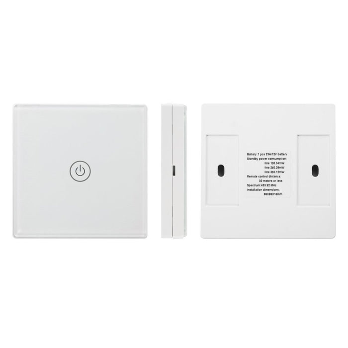 Wireless Remote Control Switch Wall Light Touch Switch for Smart Home