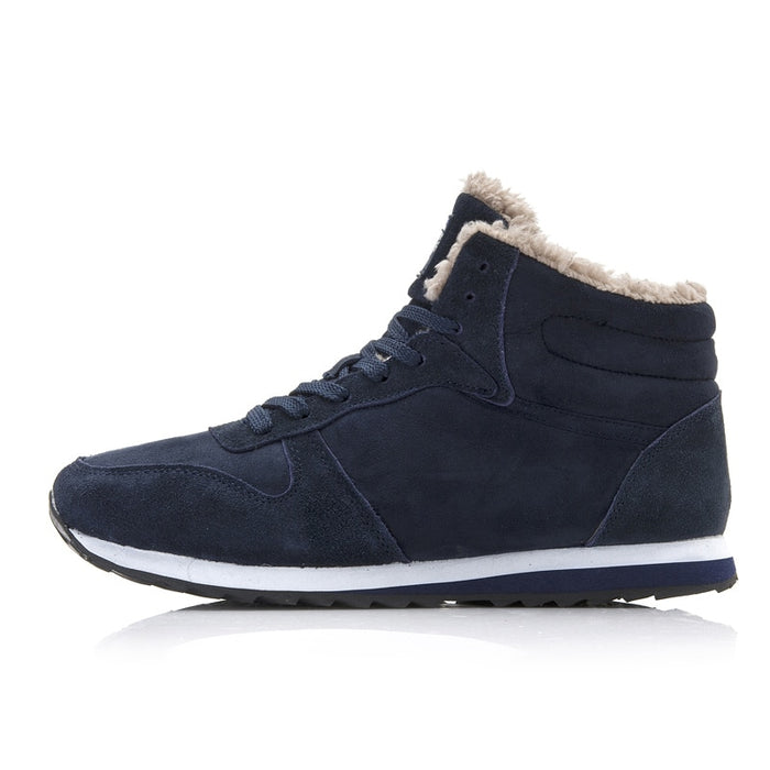 Men High Top Winter Warm Casual Designer Sneakers