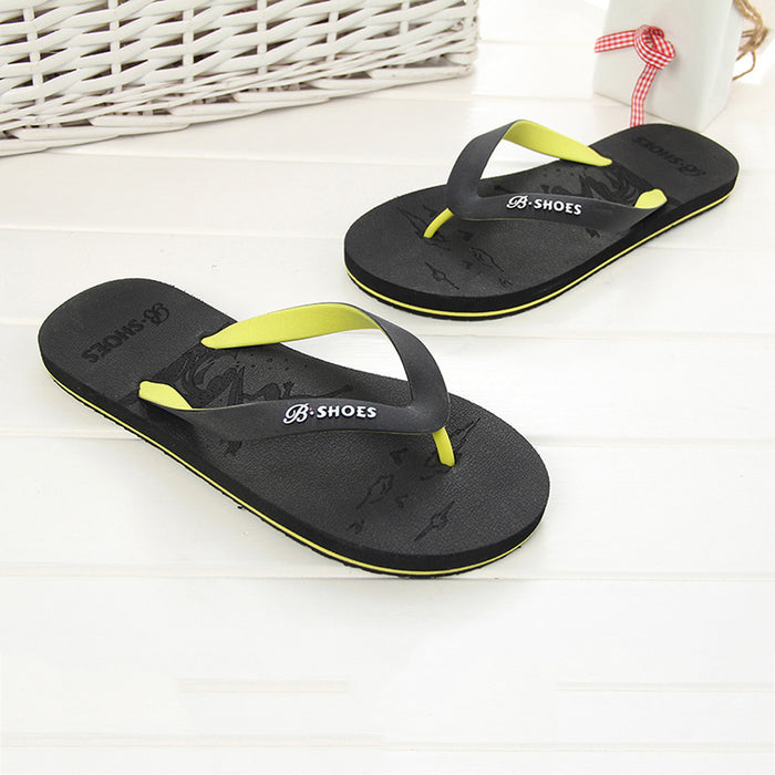 Summer Men Anti-Skidding Sandals Slipper Beach Shoes