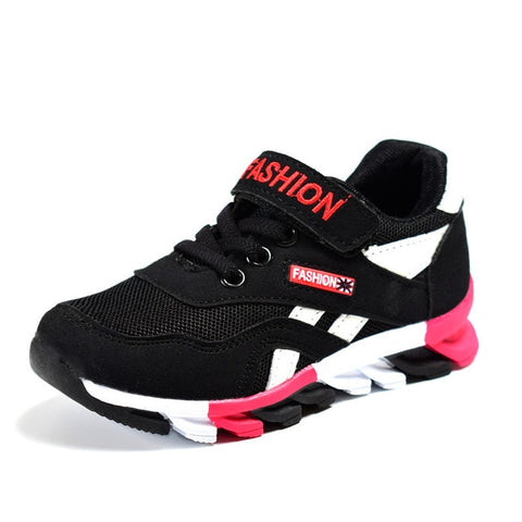 Fashion Sports Casual Shoes Breathable Kids Running Shoes