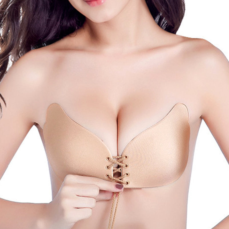 Sexy Bra Seamless Strapless Bra Female Must Silicone Push Up Bra Wire Free Invisible Bra