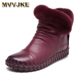 Comfortable Soft Genuine Leather Winter Boots