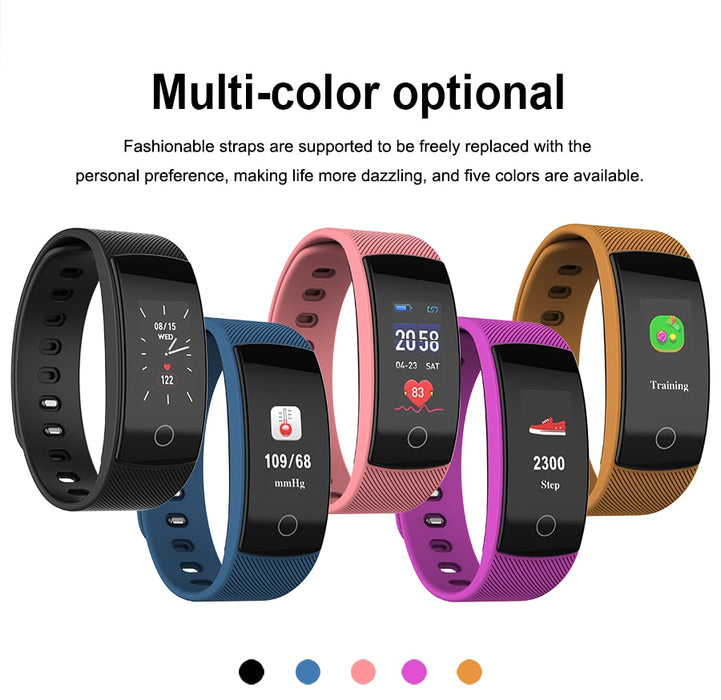 smart watches bluetooth heart rate message reminder Sleep Monitoring for IOS Android phone
