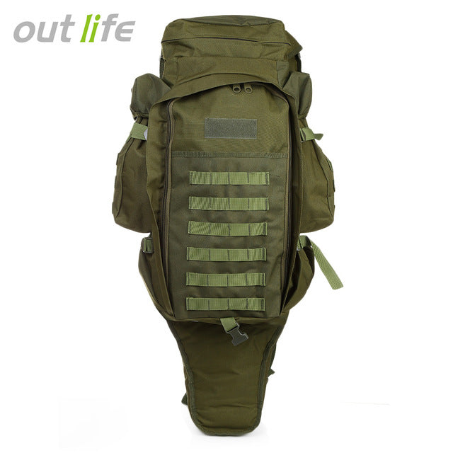 Outlife 60L Outdoor Backpack Military Tactical Bag Pack