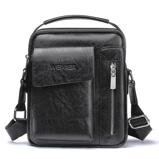 Fashion Men Shoulder  Business Messenger Bags