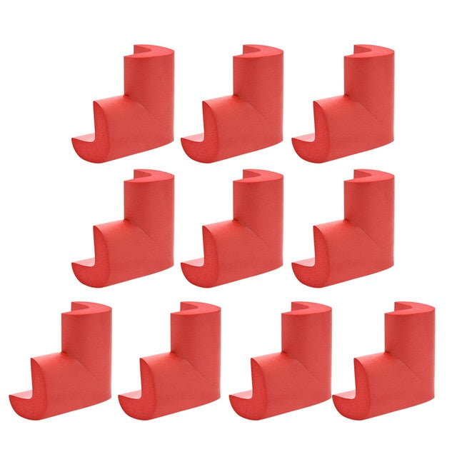 10pcs/lot Child Safety Silicone Table Corner Protection Cover Anticollision Corners Edge Protection