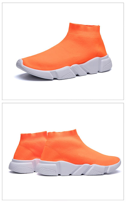 Balenciaga Men Breathable Mesh Casual Sock Shoes Sneakers