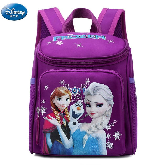 Frozen Elsa AnnaSnow Princess Backpacks