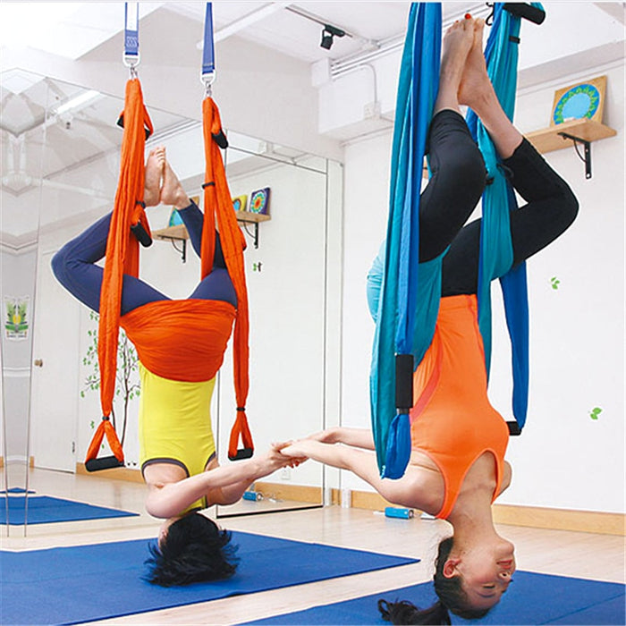 Yoga Hammock Swing Parachute Fabric Inversion Therapy