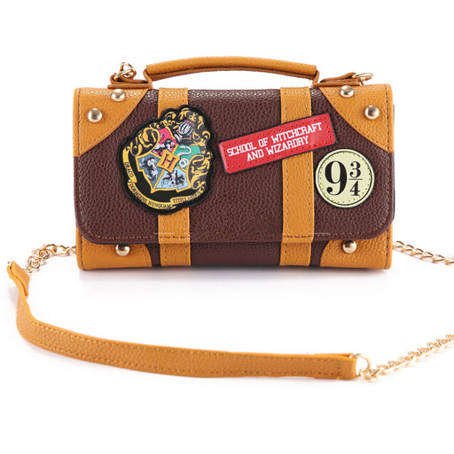 Harry Potter Hogwarts PU Chain Crossbody bag