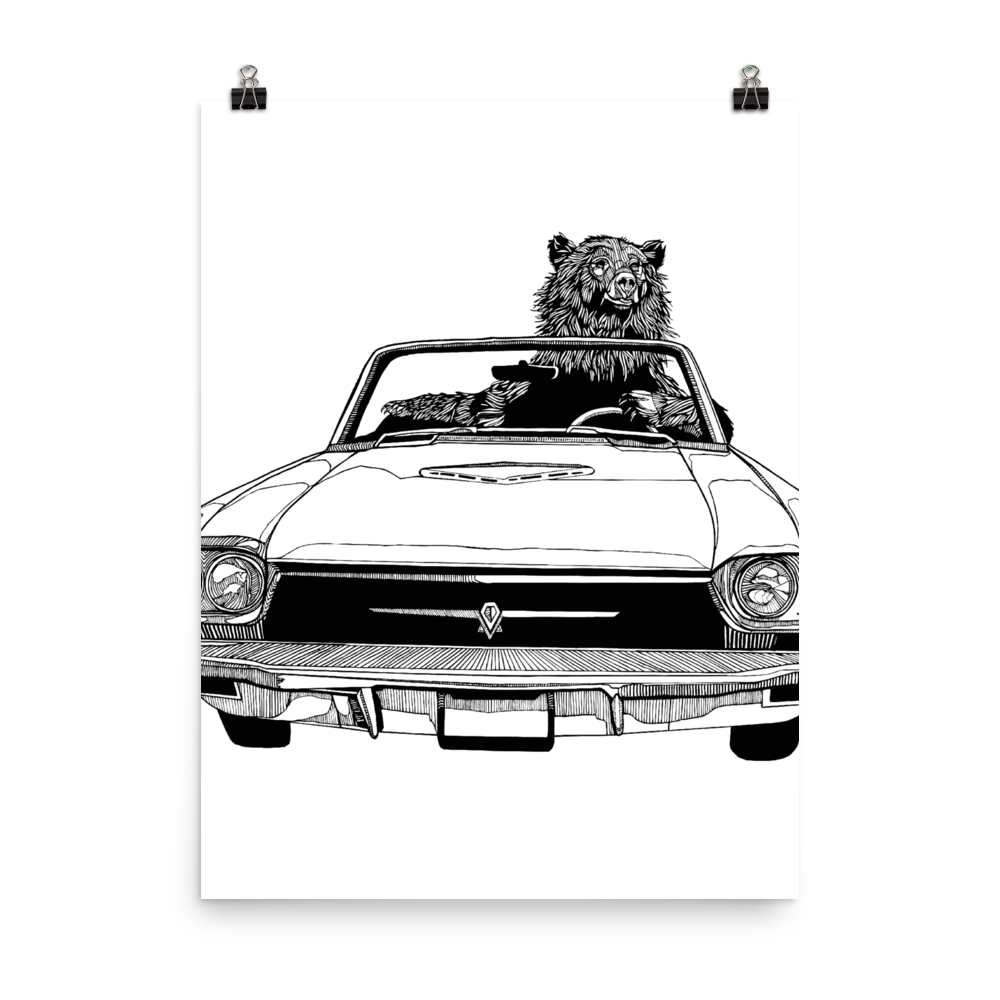 Convertible Poster
