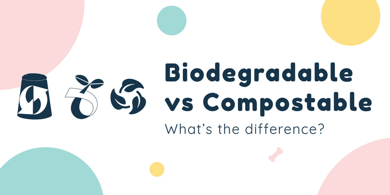 Biodegradable vs Compostable