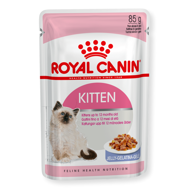 Royal Canin Kitten Instinctive Jelly Wet Food 85g